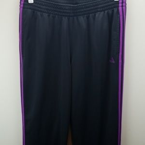 Adidas Purple Stripe Joggers